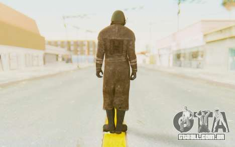 Fallout 4 - Veteran Ranger para GTA San Andreas terceira tela