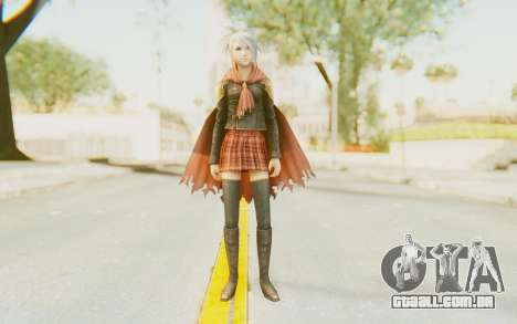 Final Fantasy - Type 0 Sice para GTA San Andreas segunda tela