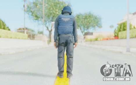 Interventna Jedinica Policije Srbije para GTA San Andreas terceira tela