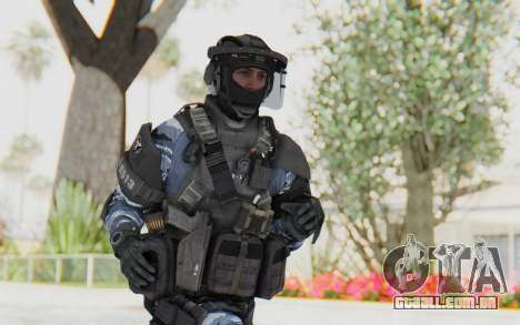 Federation Elite LMG Urban-Navy para GTA San Andreas
