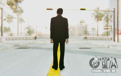 Mafia 2 - Vito Scaletta Madman Suit B&W para GTA San Andreas terceira tela