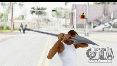 Lord Zedd Weapon para GTA San Andreas terceira tela