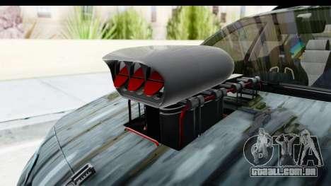 Renault Megane Sport para GTA San Andreas vista traseira