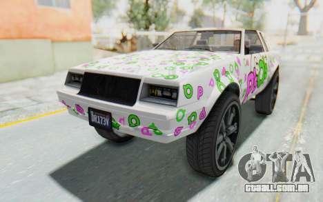 GTA 5 Willard Faction Custom Donk v3 para o motor de GTA San Andreas
