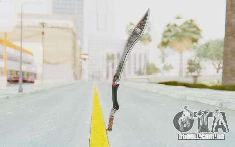 Nata Weapon para GTA San Andreas segunda tela