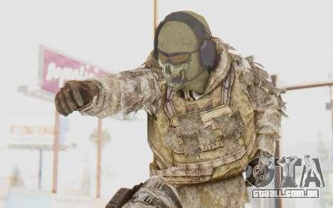 COD MW2 Ghost Sniper Desert Camo para GTA San Andreas