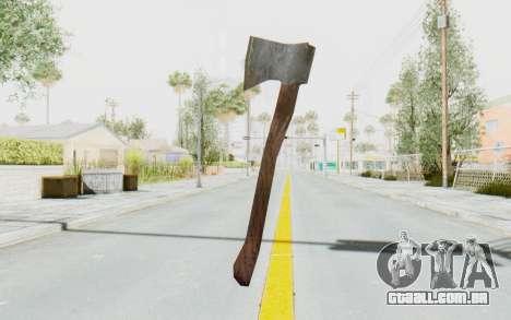 CoD Ghosts DLC Michael Myers Weapon para GTA San Andreas terceira tela
