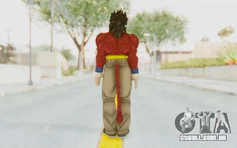 Dragon Ball Xenoverse Gohan SSJ4 para GTA San Andreas terceira tela
