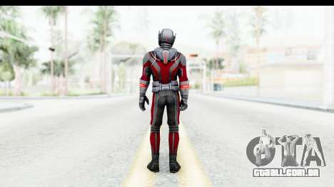 Marvel Future Fight - Ant-Man (Civil War) para GTA San Andreas terceira tela