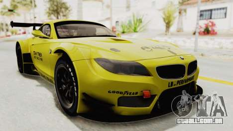 BMW Z4 Liberty Walk para GTA San Andreas vista direita