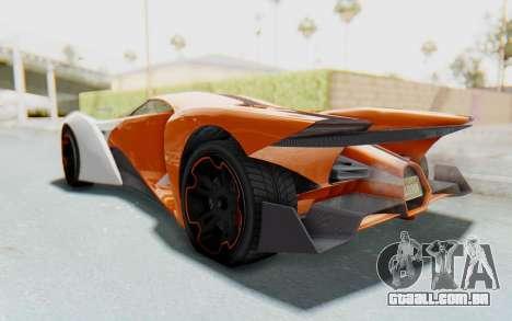 GTA 5 Grotti Prototipo v1 IVF para GTA San Andreas vista direita