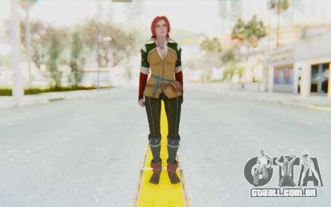 Triss Merigold para GTA San Andreas segunda tela