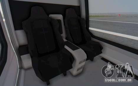 GTA 5 Buckingham Volatus v2 para GTA San Andreas vista traseira