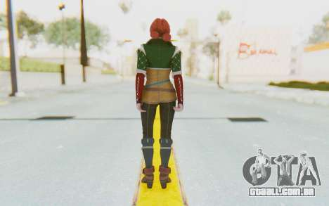 Triss Merigold para GTA San Andreas terceira tela