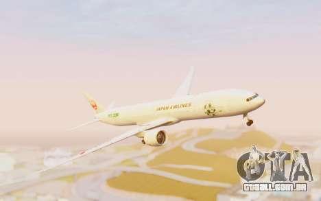 Boeing 777-300ER Japan Airlines v1 para GTA San Andreas