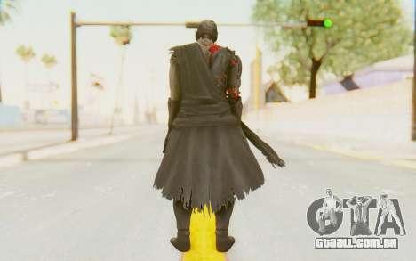 Dead Or Alive 5 Last Round - Raidou para GTA San Andreas terceira tela
