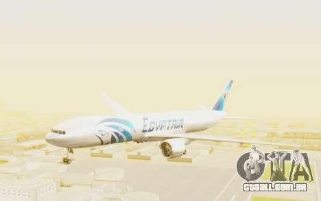 Boeing 777-300ER EgyptAir para GTA San Andreas