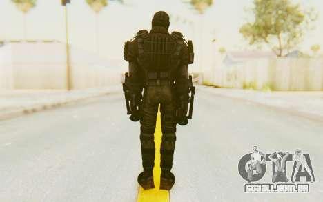 Marvel Heroes - Crossbones para GTA San Andreas terceira tela