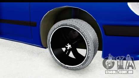 Peugeot 406 Cabrio Beta 0.8.3 para GTA San Andreas vista traseira