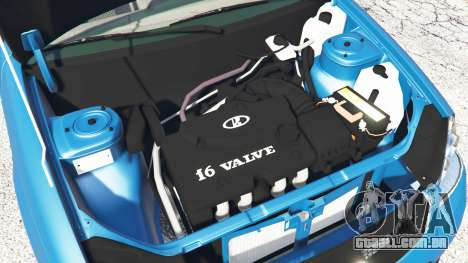 GTA 5 Lada Priora Sport Coupe v0.1 vista lateral direita