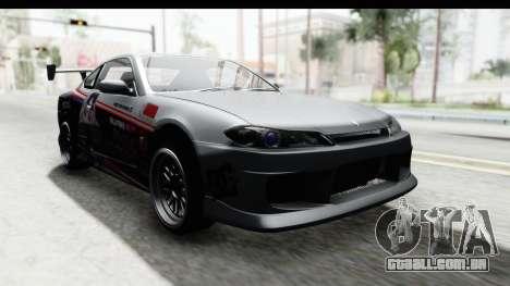 Nissan Silvia S15 Itasha para GTA San Andreas vista direita