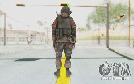 COD MW2 Russian Paratrooper v2 para GTA San Andreas terceira tela