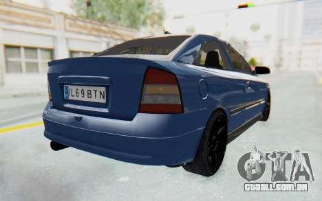 Opel Bertone para GTA San Andreas esquerda vista