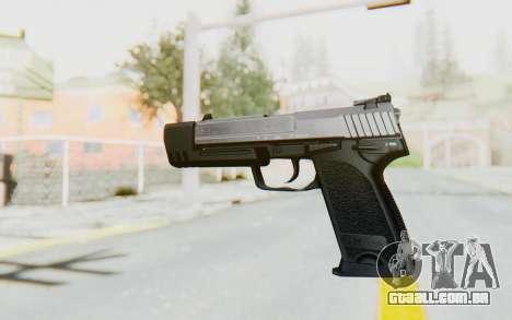 HK USP 45 Chrome para GTA San Andreas segunda tela