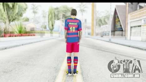 Lionel Messi para GTA San Andreas terceira tela