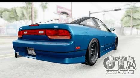 Nissan 240SX 1989 v2 para GTA San Andreas vista direita