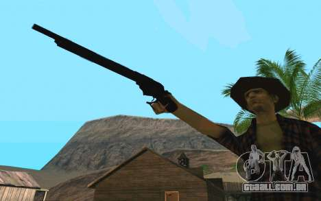 Winchester Model 1887 para GTA San Andreas terceira tela