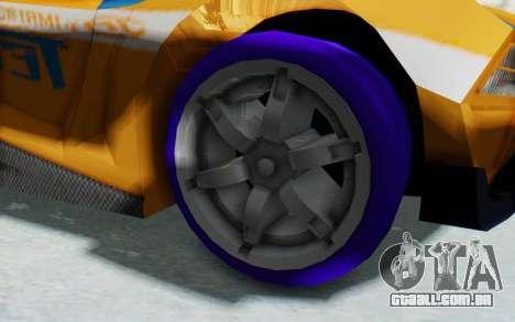Hot Wheels AcceleRacers 4 para GTA San Andreas vista traseira