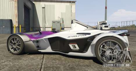 GTA 5 BAC Mono vista lateral esquerda
