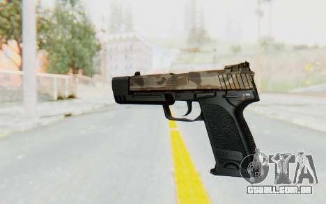 HK USP 45 Army para GTA San Andreas segunda tela