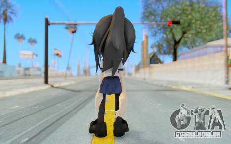 Yandere-Chan The Hedgehog para GTA San Andreas terceira tela