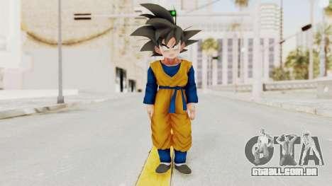Dragon Ball Xenoverse Goten SJ para GTA San Andreas segunda tela