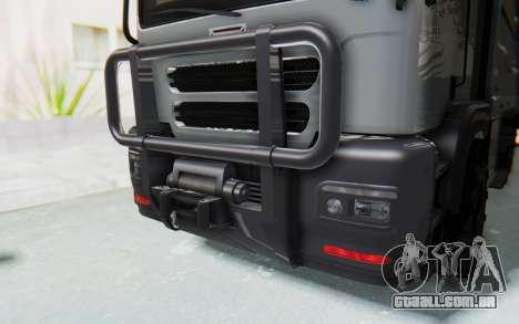 GTA 5 HVY Brickade IVF para vista lateral GTA San Andreas