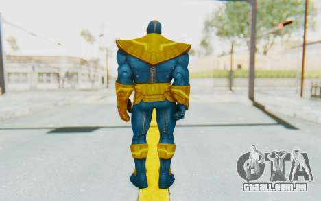 Marvel Future Fight - Thanos para GTA San Andreas terceira tela