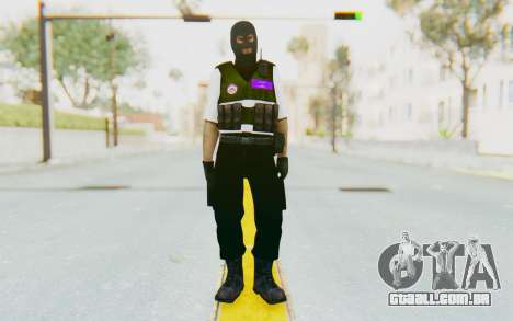 Bahrain Defense para GTA San Andreas segunda tela