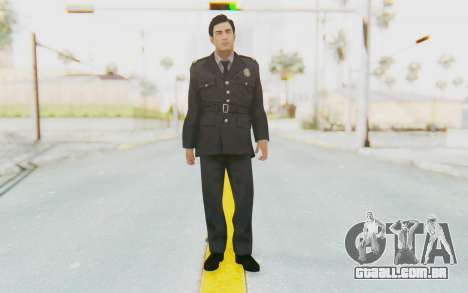 Mafia 2 - Vito Police Outfit para GTA San Andreas segunda tela