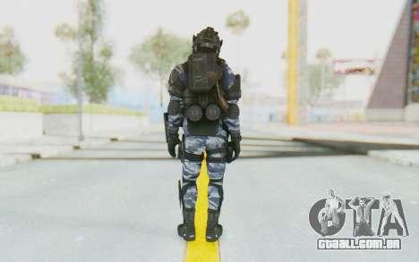 Federation Elite LMG Urban-Navy para GTA San Andreas terceira tela