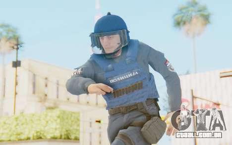 Interventna Jedinica Policije Srbije para GTA San Andreas