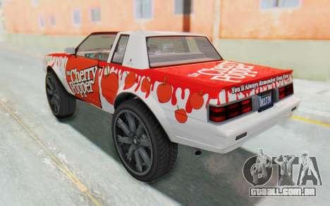 GTA 5 Willard Faction Custom Donk v2 para GTA San Andreas vista inferior