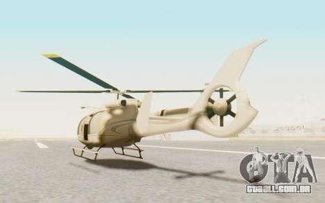 GTA 5 Maibatsu Frogger Civilian para GTA San Andreas esquerda vista