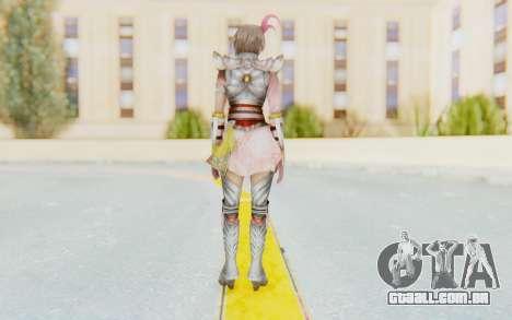 Dynasty Warriors 8 - Lu Lingqi v2 para GTA San Andreas terceira tela