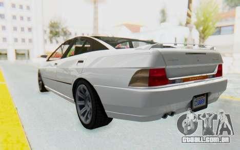 GTA 5 Imponte DF8-90 para GTA San Andreas traseira esquerda vista