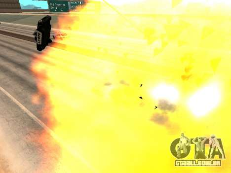 Máquinas de jateamento para GTA San Andreas por diante tela