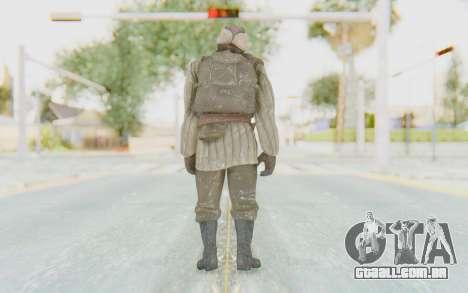 COD BO Dimitri Petrenko Winter para GTA San Andreas terceira tela