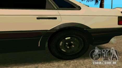 Volkswagen Passat B3 para GTA San Andreas esquerda vista
