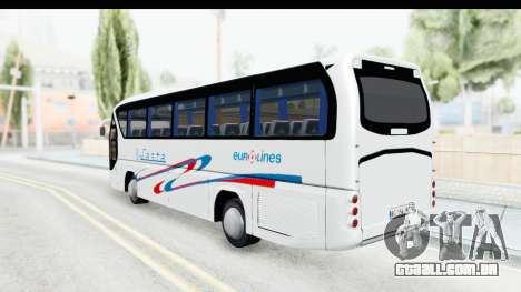 Neoplan Lasta Bus para GTA San Andreas esquerda vista